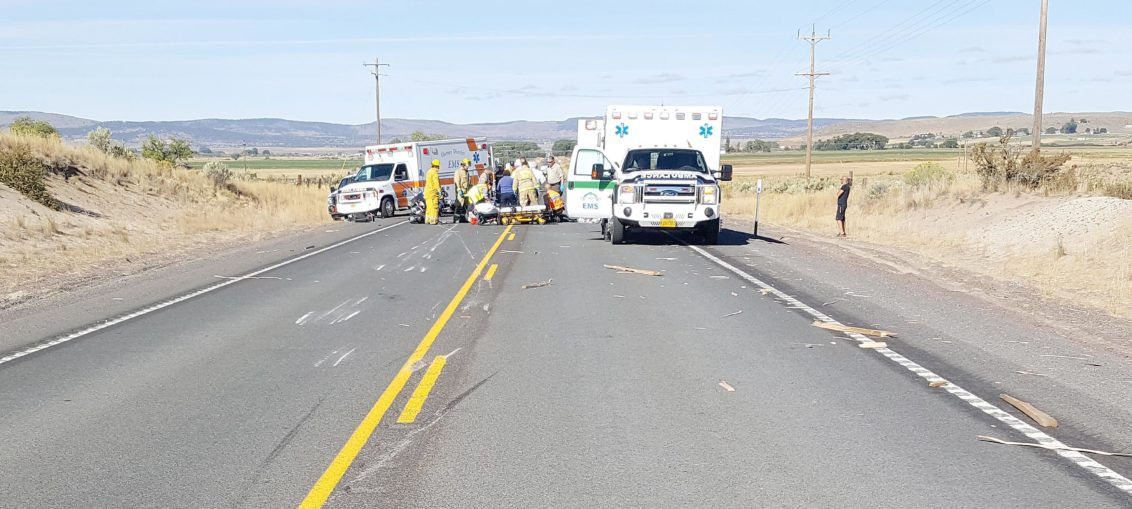 Four injured in motorcycle accident – Burns Times-Herald