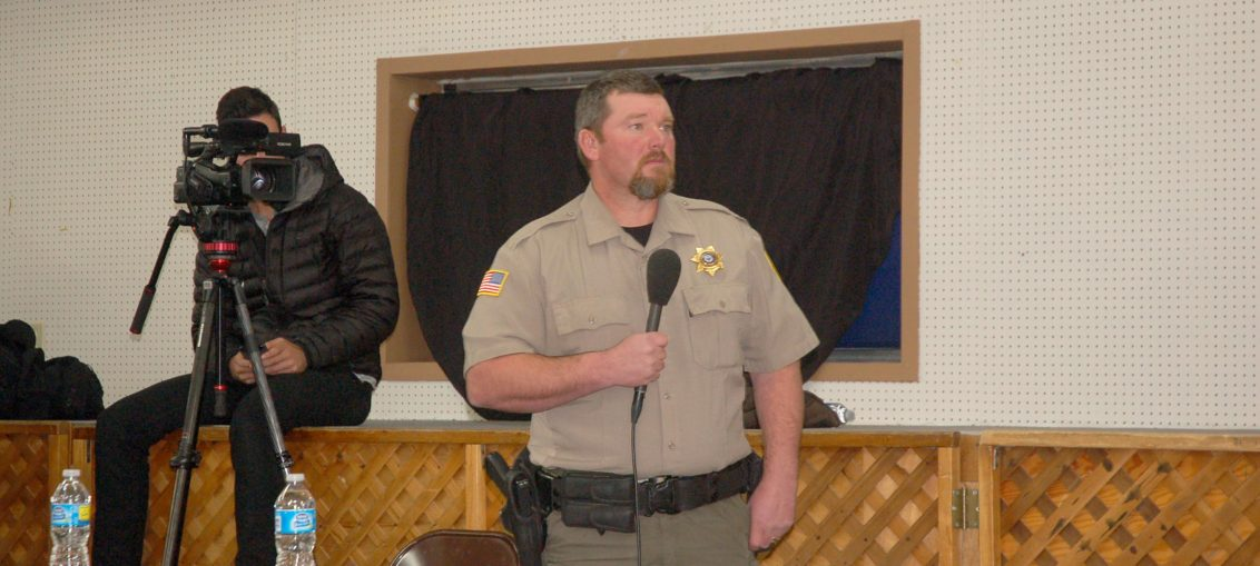 Budget shortfall has county sheriff intending to resign